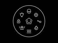 Gate Perimeter Exodus Icons