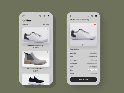Shoe E-Commerce App nepali online store shoe app ecommerce app shopping ui design ux ui app design app adobexd