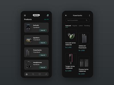 E-commerce app design electronics online store online shopping online shop ecommerce design ecommerce app digital ui design ux ui app design app adobexd