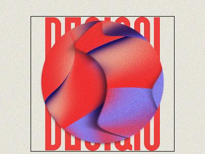 Design For Yourself typography cool logo noise illustrator photoshop instagram post vector design branding illustration absrtact retro graphic design art