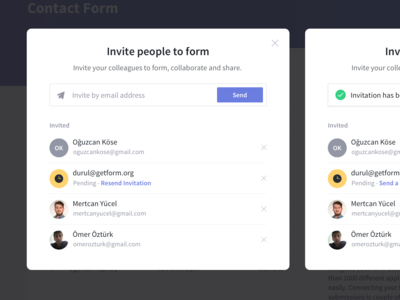 Getform - Collaboration