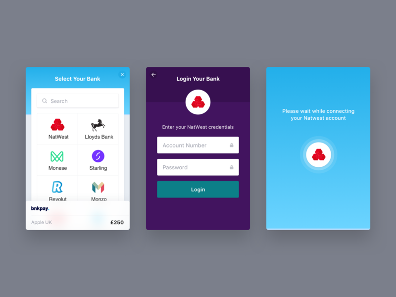 Checkout Journey saas user experience ux ui sketch minimal fintech