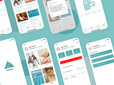 Fitness Club App fitness club fitness app app mobile design mobile app design uxdesign uidesign uiux ux ui