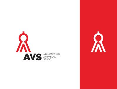 AVS logo dividers design logo branding