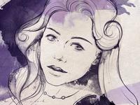"""Tina"" illustration for documentary"