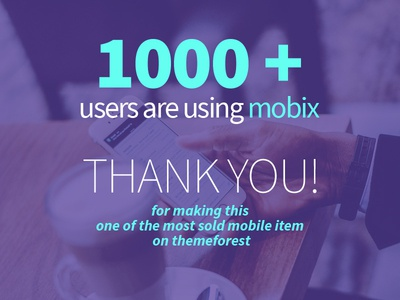 Great thanks to our users!
