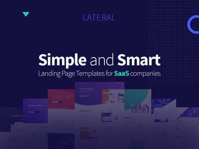 LATERAL Landing page