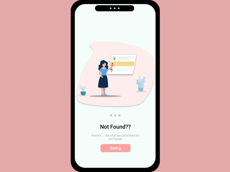 Onboarding UI 3 match chat app girl character ux figmadesign design illustration ui design ui uiux app design mobile ui mobile app onboarding illustration onboarding screen onboarding ui