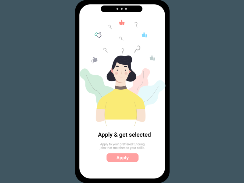 Onboarding UI 6 ux girl character branding selected profile page onboarding illustration onboarding screens uiux ui onboarding figmadesign icon vector illustration vector illustration