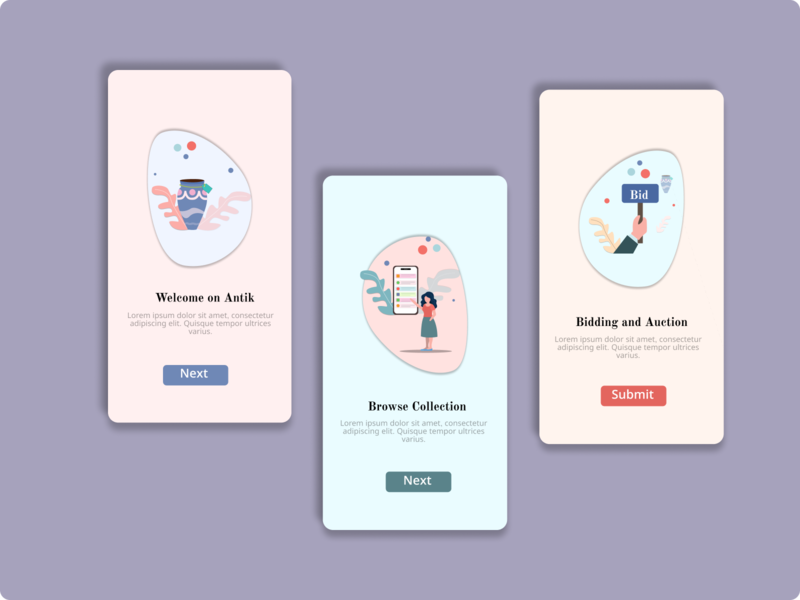 antik online shop onboarding illustration mobileapp uiux ui vector student character design icon vector illustration vector illustration figmadesign onboarding illustration onboarding screen onboarding ui onboarding