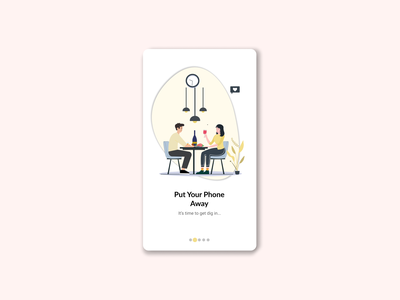 Food Review App Onboarding UI ux onboarding illustration branding onboarding ui character figmadesign icon vector illustration vector illustration ui onboarding screen onboarding