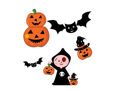 Halloween Stickers halloween flyer stickers halloween design halloween icon vector vector illustration