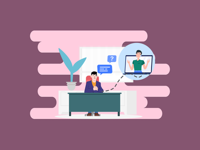 24*7 Online Support Illustration activity character illustration design figmadesign vector illustration helpdesk support