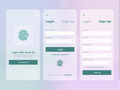 Glassmorphism login form UI Design | Figma Design akanksha vectorlo signup loginscreen appui 3d graphic design ui