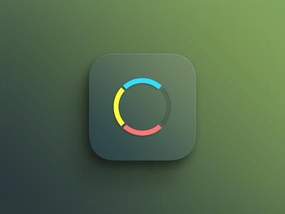 iOS Game icon ios app mobile game icon green