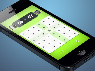 iPhone Game iphone ios game app numbers green light