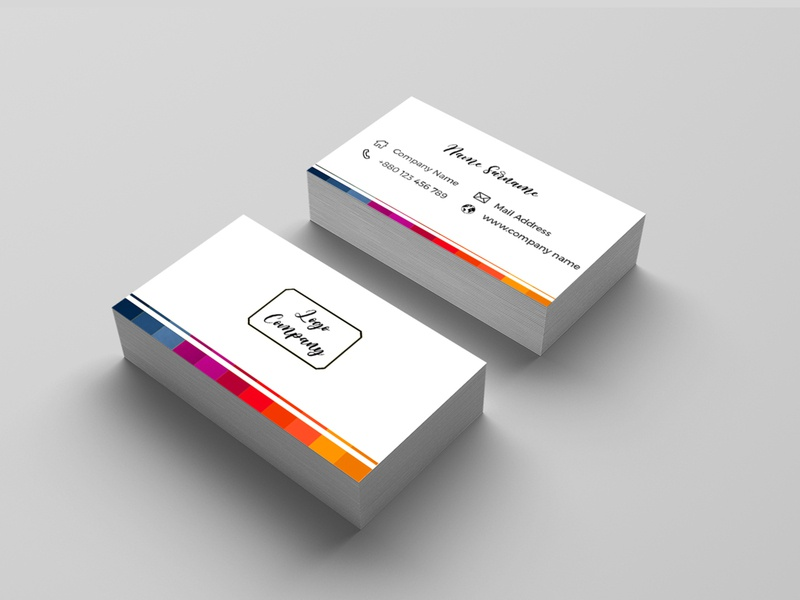 Business Card photoshop brand logo flyer cover leaflet logo graphic design company branding illustrator typography business card