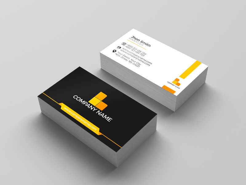 Business Card branding logo cover graphic design flyer leaflet photoshop typography company branding visiting card business card