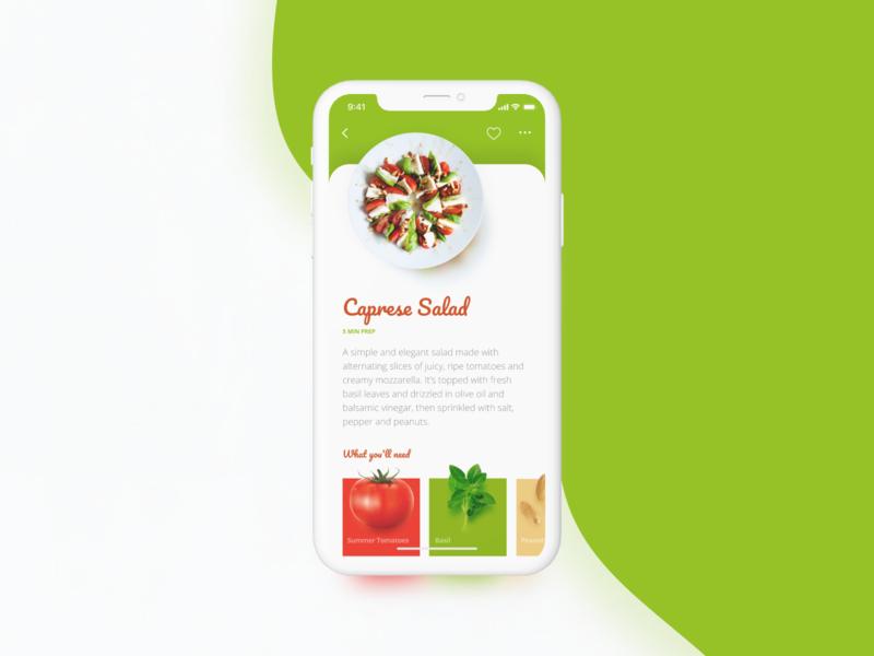 Salad tomato food salad app design app webdesign web user interface design user interface ui product design design