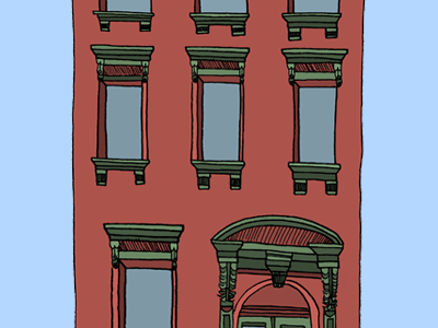 Opening Page Preview - Brownstone brownstone portfolio website illustration