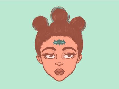 Logo Concept blog thirdeye logo