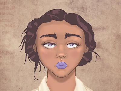 Girl Illo illustration girl