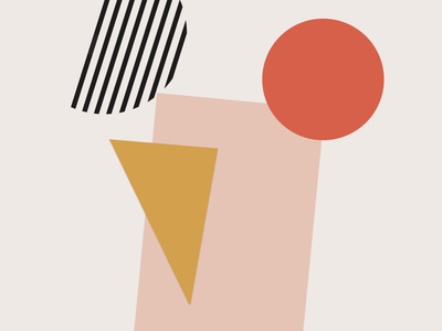 Geometric shapes vintage art 60th style art custom drawing art modern geometric art geometric art minimalism drawing illustration logo design lineart stylish minimalistic pop art