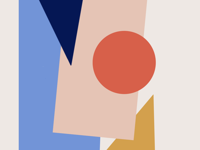 Geometric colorful shapes gift custom design print printable pictures branding wall decor abstract modern art shapes art art style 60th geometric art logo portrait lineart minimalistic stylish drawing illustration