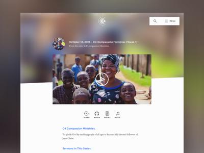 C4 Website – Media