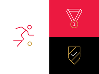 Simple Athletic Icons
