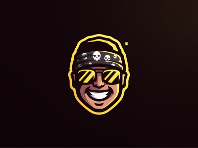 Portrait mascot logo brand illustrator icon esportlogo mascot logo illustration sports logo mascot logo branding