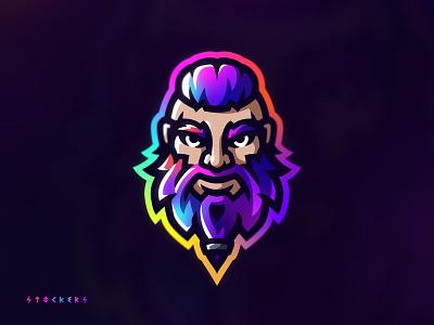 Viking - Mascot logo icon brand mascot logo esportlogo mascot sports logo illustration illustrator logo branding