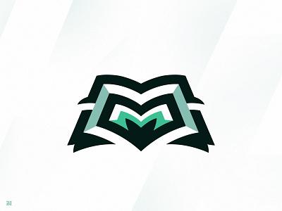 M + Magazine esportlogo sports logo mascot mascot logo illustration vector illustrator icon logo branding