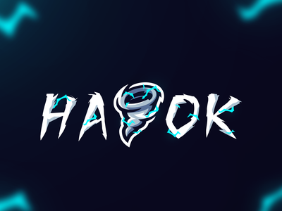 Havok Wordmark brand esportlogo mascot logo sports logo mascot illustrator illustration icon logo branding
