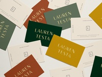 Lauren Business Cards