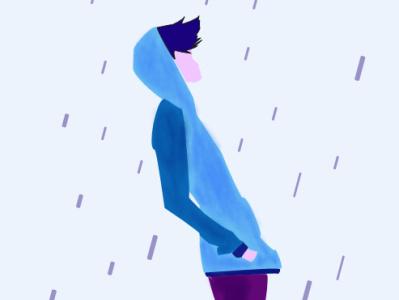 Boy illustration illustrator illustration minimal design