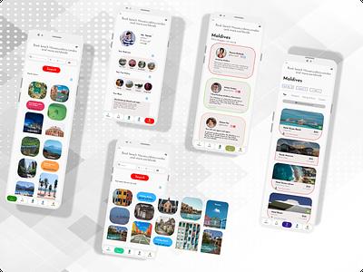 HomeAway - Hotel Booking Mobile App Design figma adobe xd icon flat typography clean mobile graphic design branding app ux ui minimal design