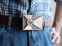 3D-Printed Belt Buckle
