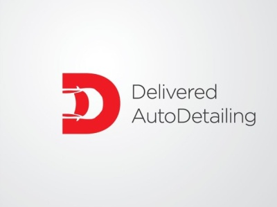 Auto Detailing Logo design branding negativespace flatdesign unique logo illustration car automobile auto animate auto dealer auto parts automotive auto detailing auto