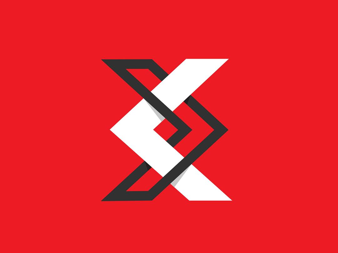 Logo logo design concept line logo icon grid logo grid branding logo abstract