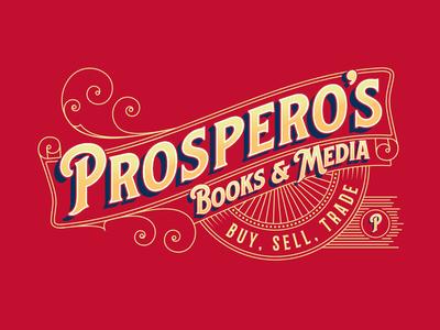 Prospero's Books & Media Logo