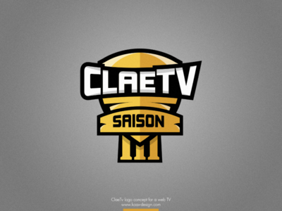 Esport team logo webtv flat gold yellow grec shield esport logo