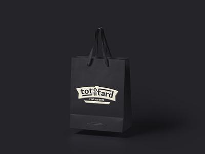 Totoutard logo concept logodesign logoconcept fastfood restaurant food logo