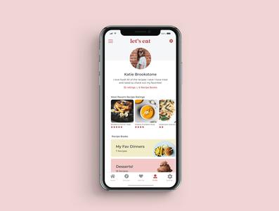 Daily UI 6 User Profile daily ui dailyui minimal flat logo app ui design ux