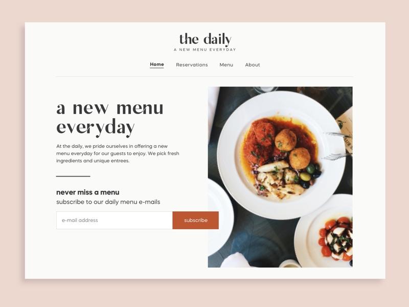 Daily UI 26 Subscribe web type logo branding typography ui minimal design ux daily ui 026 daily ui 26 daily ui dailyui