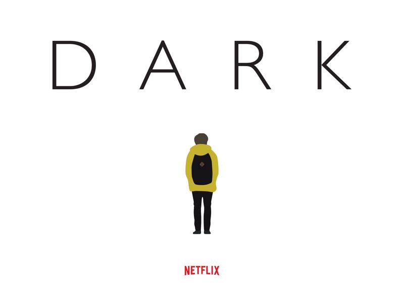 Dark Netflix - Weekly Warm-up challenge warmup dribbbleweeklywarmup posterdesign poster netflix darknetflix dark design illustration