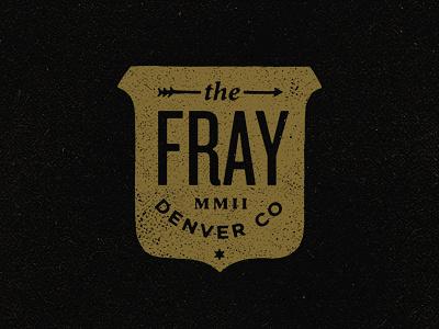 Fray the fray vintage apparel merch arrow shield crest denver colorado band