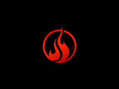Smokin' s logomark logo flame bbq smoke fire food barbecue