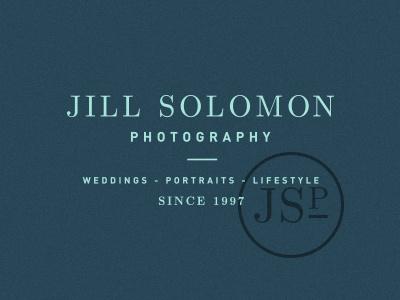 JS Photo lifestyle portraits logo branding photography