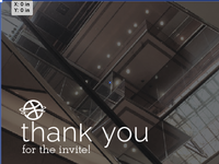 Thanks for the invite!
